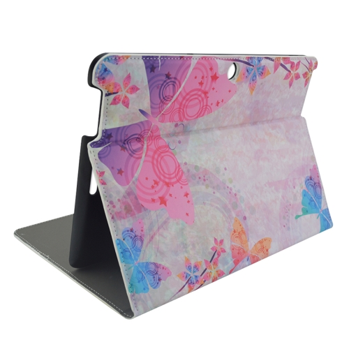 Creative Designs Flip Leather Case for ASUS MeMO Pad 10 ME103K with Holder (Lovely Butterfly Pattern)