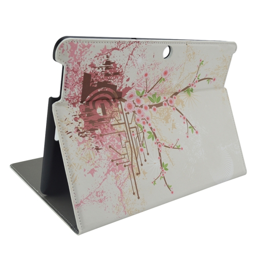 Creative Designs Flip Leather Case for ASUS MeMO Pad 10 ME103K with Holder (Flower Pattern)