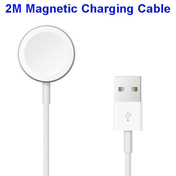 Newest Wireless 2M Magnetic Charging Cable for Apple Watch