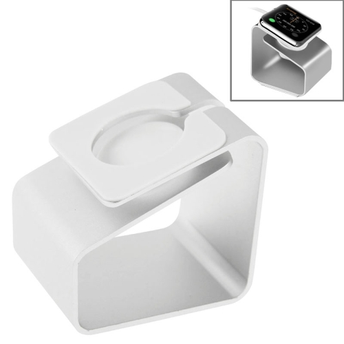 Suprior Quality Aluminum Charging Holder Stand for Apple Watch (White)