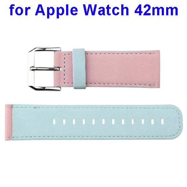 Basues Luxury Design Smart Watch Band for Apple Watch 42mm (Light Blue)