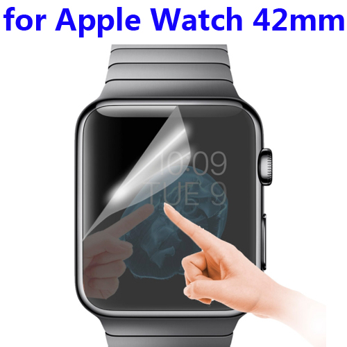 New 42mm Dial Diameter Mirror Screen Protector for Apple Watch 42mm