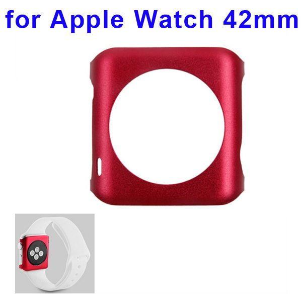 Fashionable Design Aluminium Alloy Protective Case for Apple Watch 42mm (Red)