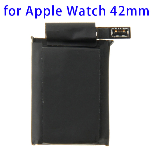 205mAh Rechargeable Replacement Li-ion Polymer Battery for Apple Watch 42