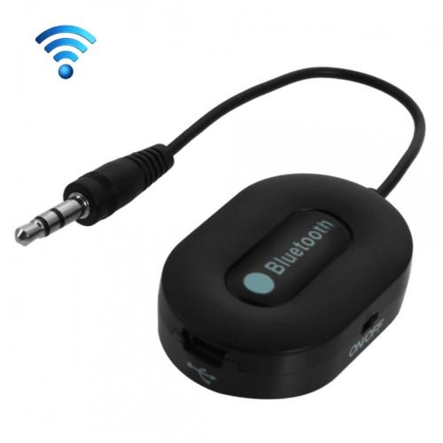 BM-E9 3.5mm Jack Bluetooth 3.0 Adapter Audio Receiver (Black)