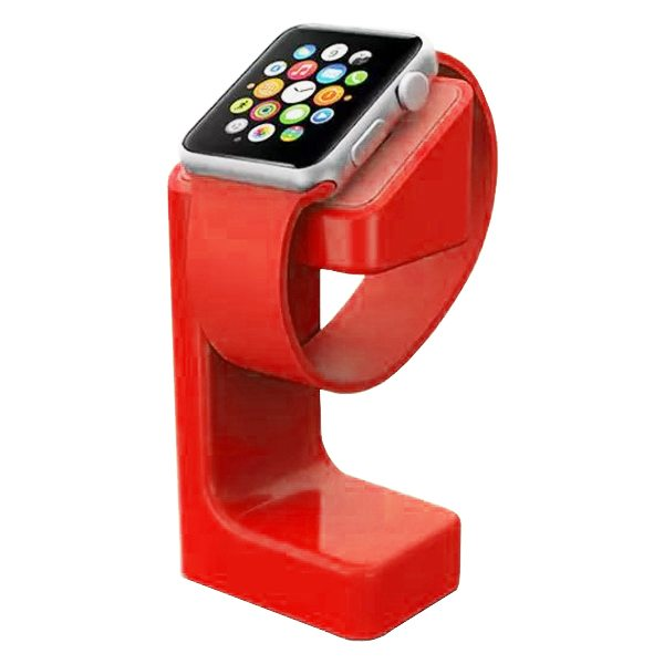 e7 Stand Charging Holder for Apple Watch (Red)