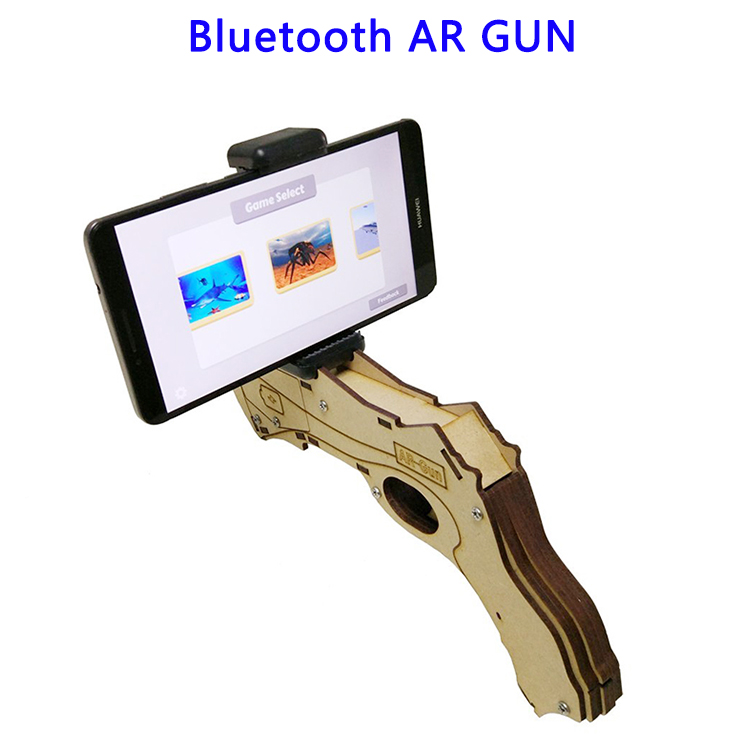 Augmented Reality OSB Wood Bluetooth AR GUN for Phones