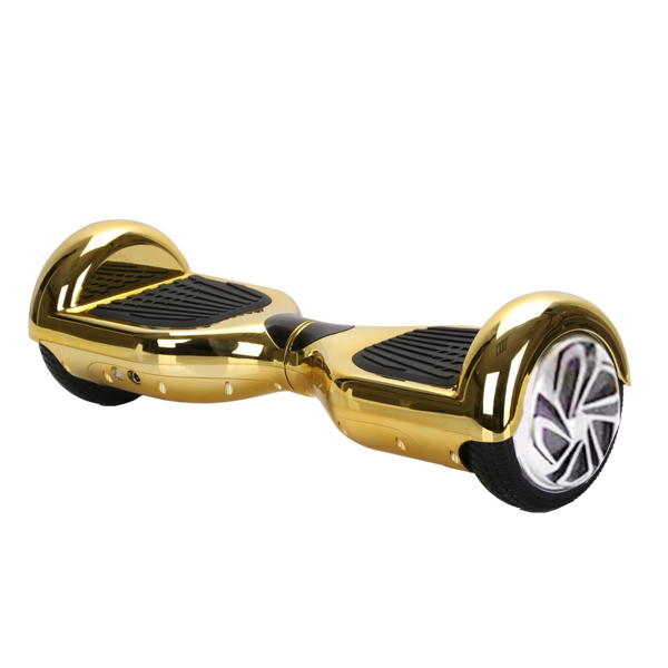 6.5 inch Two Wheel Electroplated Self Balancing Scooter (Gold)