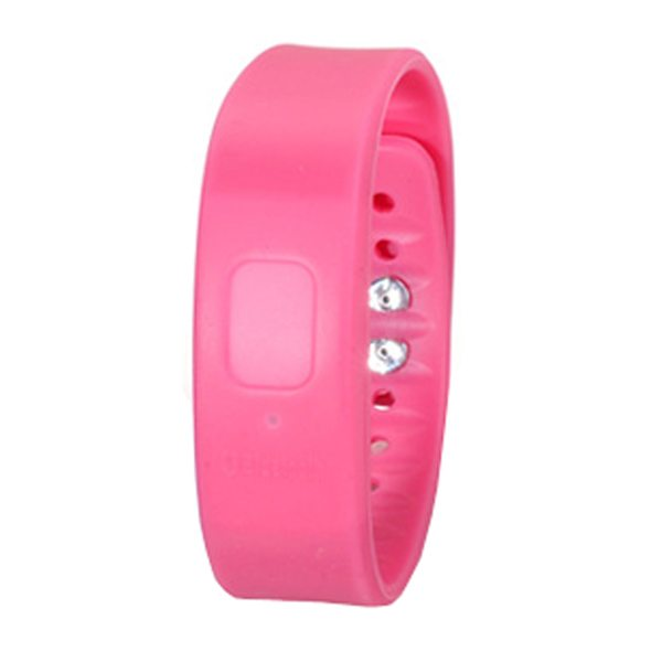 2015 New Products Bracelet Bluetooth Anti Lost Device Tracker for IOS and Android (Pink)