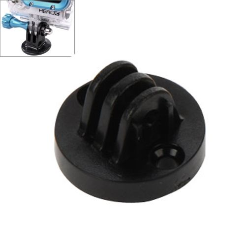 Tripod Camera Mount Adapter for Gopro Hero 4 / 3+ / 3 / 2 (Black)