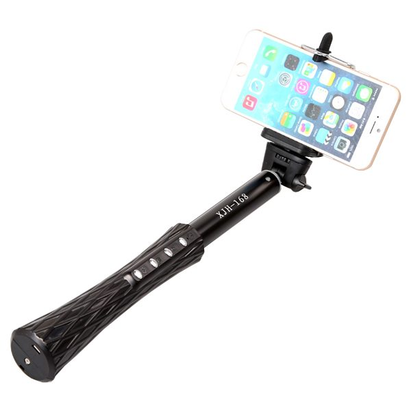 Xjh-168 Small Pretty Waist Super Quality Selfie Pole for Android and IOS with Bluetooth