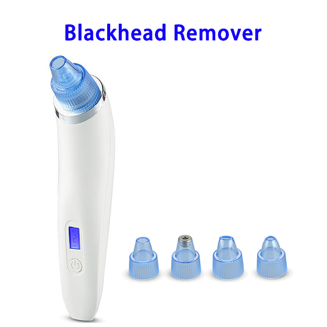 FDA Approved 4 in 1 USB Rechargeable 850mAh Facial Pore Cleaner Blackhead Remover Vacuum