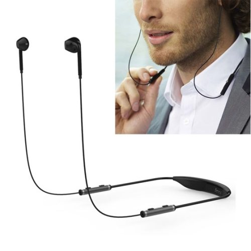 AEC BQ-621 Stereo Bluetooth Headset with Mic for Moblie Phones and Other Smart Bluetooth Devices (Black)