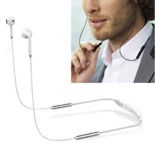 AEC BQ-621 Stereo Bluetooth Headset with Mic for Moblie Phones and Other Smart Bluetooth Devices (White)