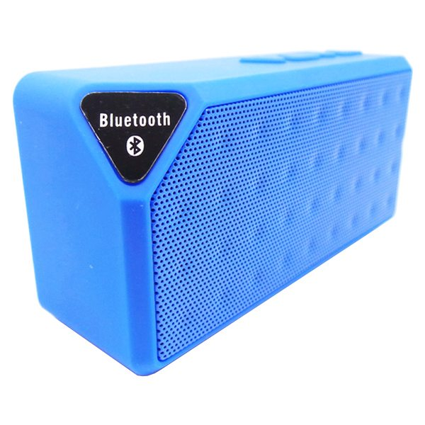 Water Cube Style X3 Mini Wireless Bluetooth Speaker That Supports TF Card Hands Handsfree Call (Blue)