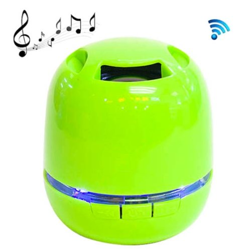 T6 Egg Style Mini Bluetooth Speaker for iPad / iPhone / Other Mobile Phone with Multi-function Support TF Card / Hand-free (Green)