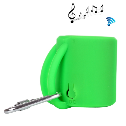 Creative Cup Shape Mini Portable Wireless Bluetooth Speaker for iPad / for iPhone / Other Mobile Phones (Green)