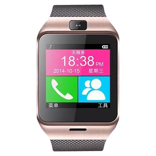 GV18 Aplus 1.5 Inch TFT HD LCD Smart Bluetooth Watch for Smartphones with GSM / NFC / SIM Card