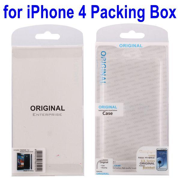 High Quality 7cm*12.5cm Packing Box For iPhone 4 Leather Case