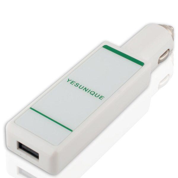 2200mAh Perfume Car Charger Mobile Power Bank (White)