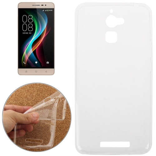 Ultrathin TPU Protective Mobile Phone Case for Coolpad Y90 (Clear)