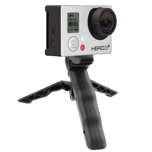 High Quality Portable GoPro Flexible Flip Rotating Tripod Stand for Digital Camera