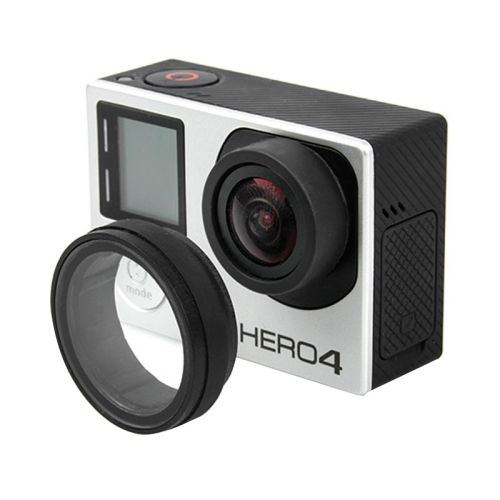 UV Lens Cover Optical Glass Lens Cover for GoPro Hero 4 / 3+ / 3 edition Camera Protective Accessories