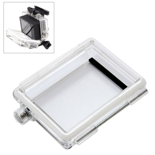 ST-174 Waterproof Backdoor for GoPro Hero 3+ Bacpac LCD Screen (Transparent)