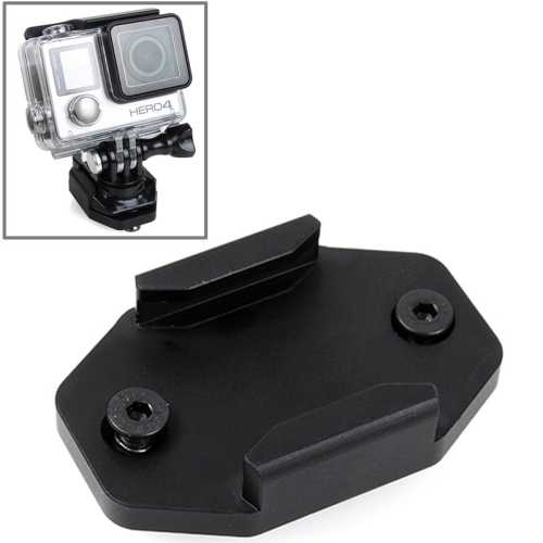 Factory Price Black Aluminum Mount for Go Pro Hero 4 / 3+ / 3 with Fixing Screws