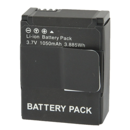 1050mAh Wholesale Black Replacement Battery for GoPro HD Hero 3 Camera