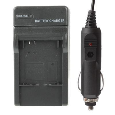 Digital Camera Battery Smart Charger with EU Plug & Car Charger Travelling Set for GoPro HD Hero 3