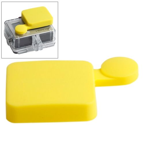 Nice Pattern TMC Protective Silicone Cap for Gopro Hero 4 / 3+ (Yellow)