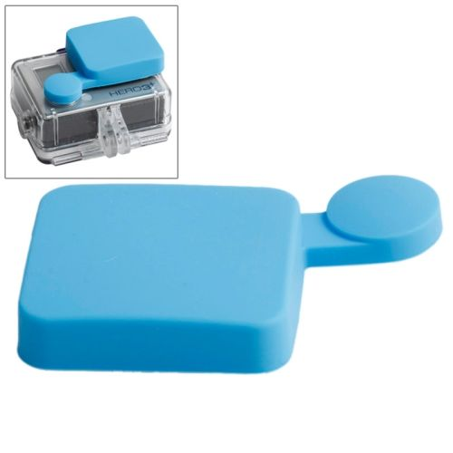 Nice Pattern TMC Protective Silicone Cap for Gopro Hero 4 / 3+ (Blue)