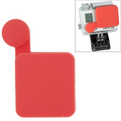 Nice Pattern TMC Protective Silicone Cap for Gopro Hero 4 / 3+ (Red)