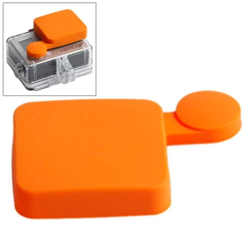 Nice Pattern TMC Protective Silicone Cap for Gopro Hero 4 / 3+ (Orange)