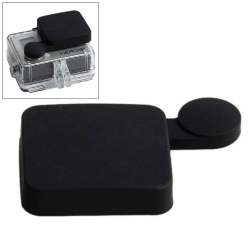 Nice Pattern TMC Protective Silicone Cap for Gopro Hero 4 / 3+ (Black)