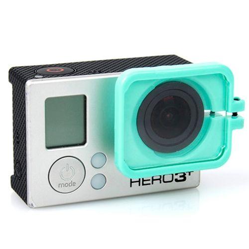 TMC Anti-Exposure Protective Lens Hood Cover for GoPro Hero 4 / 3+ (Green)