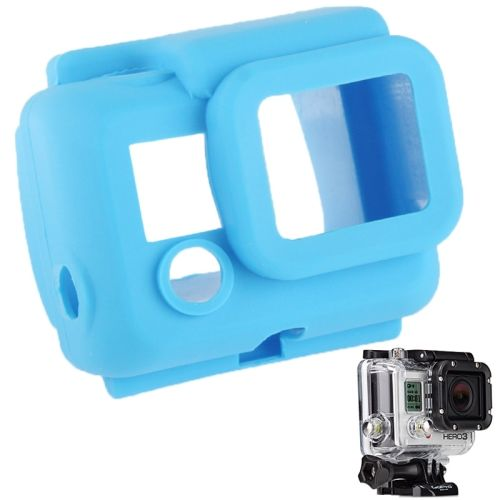 Protective Silicone Shockproof Case for GoPro Hero 3 (Blue)