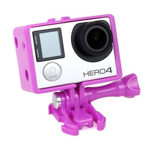 TMC BacPac Frame Mount Housing Case for GoPro Hero 4 / 3+ (Rose)