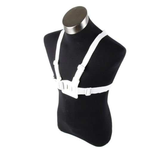 Extreme Sports Accessories TMC Chest Belt for GoPro Hero 4/ 3/ 3+/ 2 (White)