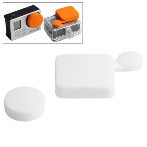 TMC Colorful Protective Silicone Cover for Gopro Hero 4 / 3+ (White)