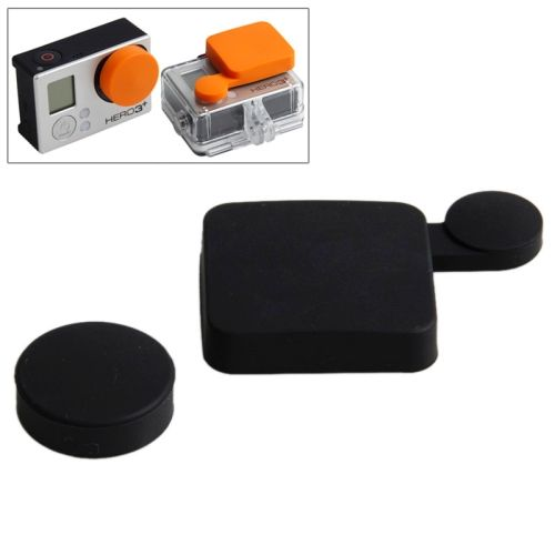 TMC Colorful Protective Silicone Cover for Gopro Hero 4 / 3+ (Black)