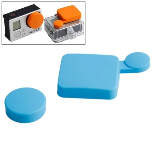 TMC Colorful Protective Silicone Cover for Gopro Hero 4 / 3+ (Blue)