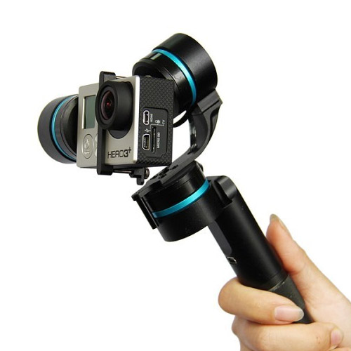 High Quality Black Ultra 3-Axis Handheld Steadycam Camera Gimbal Stabilizer for GoPro Hero 3
