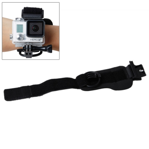 TMC Wrist Mount Clip Belt for Gopro Hero 4 / 3+, Belt Length: 31cm, HR177 (Black)