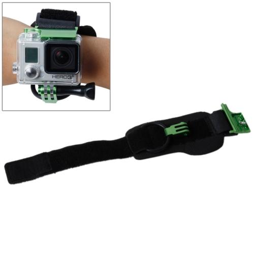 TMC Wrist Mount Clip Belt for Gopro Hero 4 / 3+, Belt Length: 31cm, HR177 (Green)