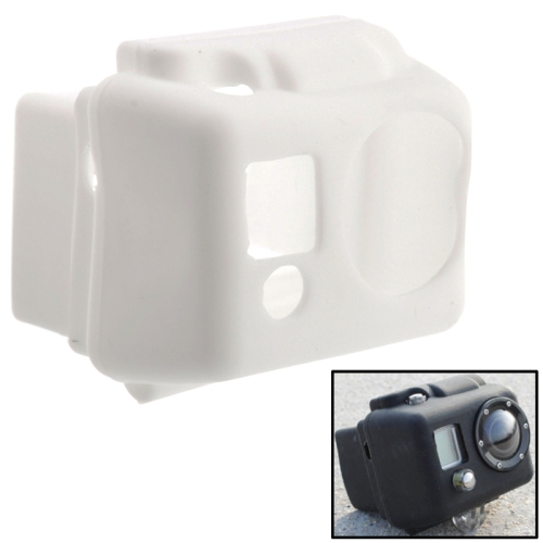 ST-40 Silicone Protective Case for Gopro Hero 2 (White)