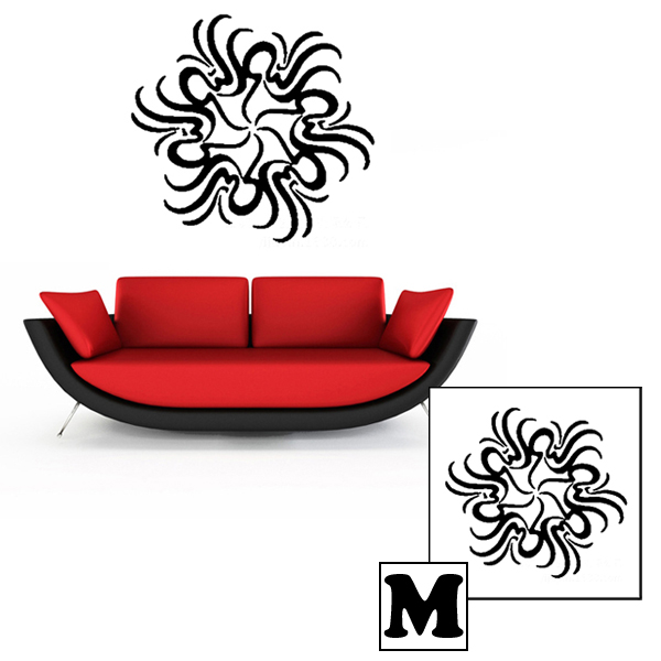 High Quality Waterproof Removable Vinyl Sticker Decal Home Decor (44cm x 44cm)