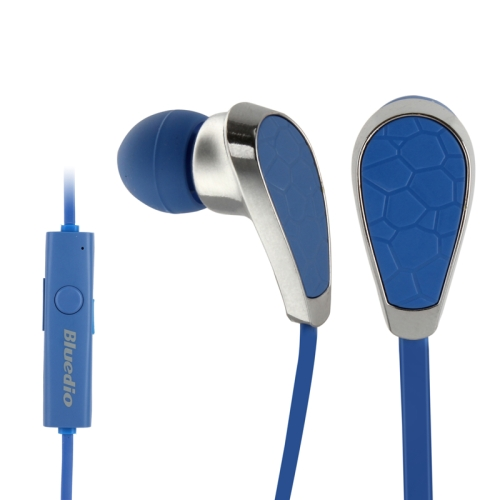 Bluedio N2 In-ear Stereo Bluetooth Headset with Mic for Moblie Phones (Blue)