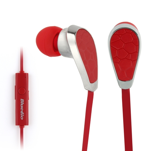 Bluedio N2 In-ear Stereo Bluetooth Headset with Mic for Moblie Phones (Red)